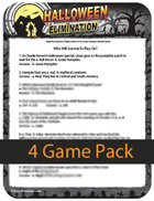Halloween Elimination Trivia - Small or Large Group Game
