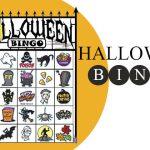 Halloween Bingo Printable Game Cards
