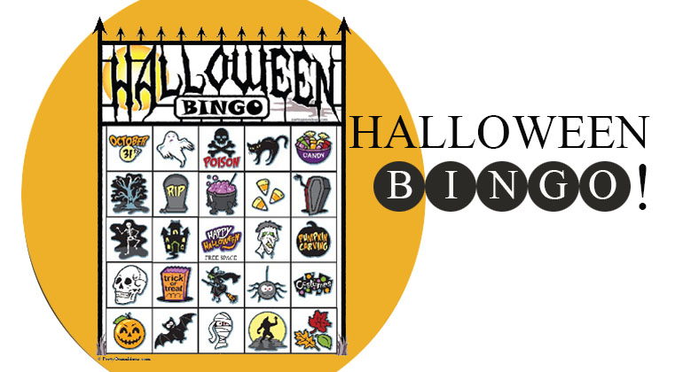 photograph regarding Printable Halloween Bingo Card named Halloween Bingo - Printable Halloween Bingo Playing cards