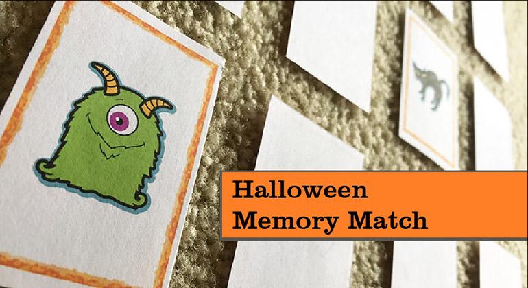 Halloween Memory Match