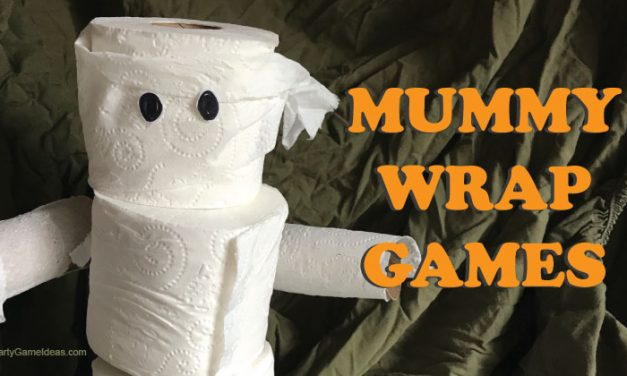 4 Mummy Wrap Halloween Games