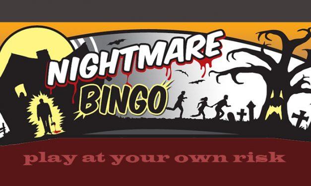 Halloween Nightmare Bingo