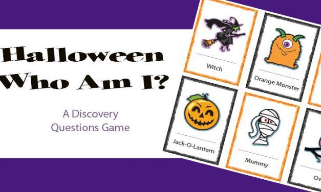 Halloween Who Am I?