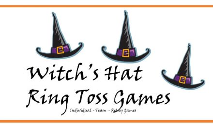 3 Witch's Ring Toss Games