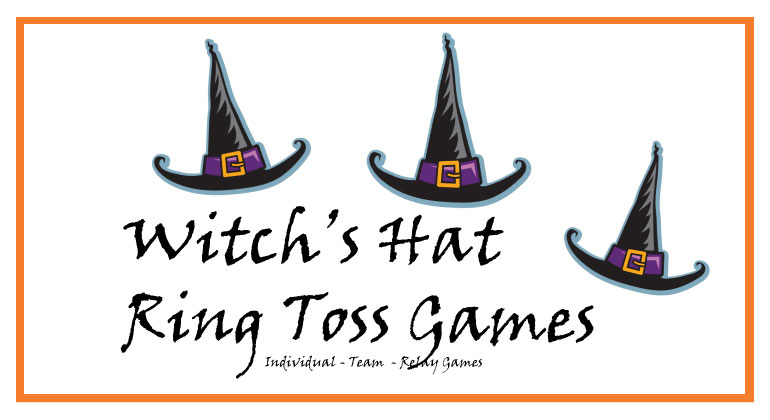 kids halloween games witchs ring toss