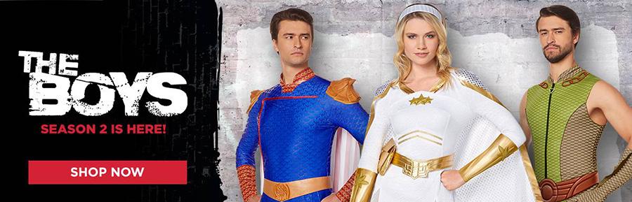 The Boys Super Heroes Homelander Starlight Costumes
