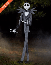 Animatronic Jack Skellington