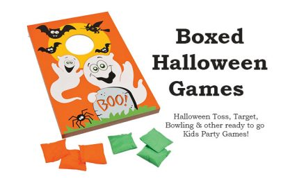 Boxed Halloween Games
