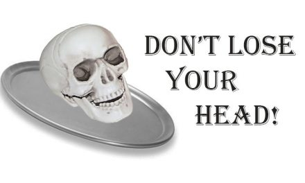 Dont Lose Your Head – Tray Game