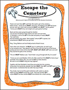 Halloween Left Right Story Game