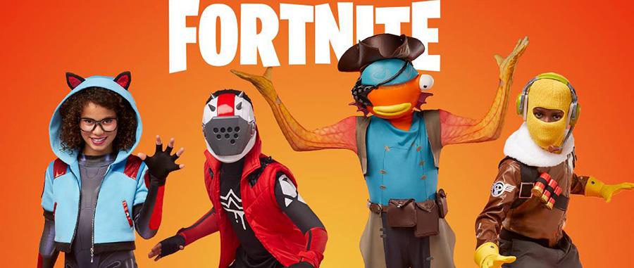 Fortnite Kid's Costumes