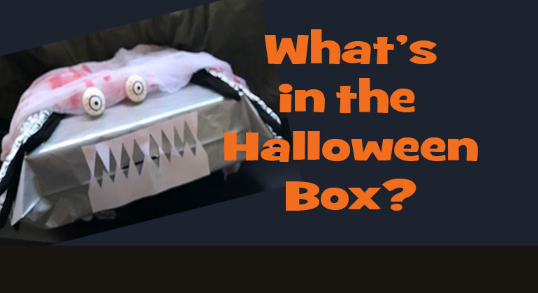 Guess What's in the Halloween Box