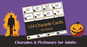 Printable Halloween Charades for Adults