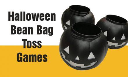 Halloween Bean Bag Toss Games