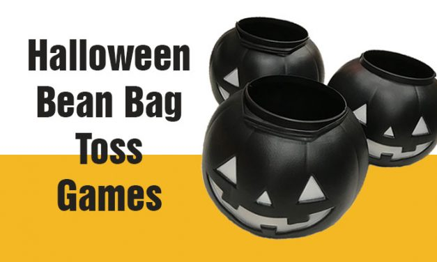Halloween Bean Bag Toss Games