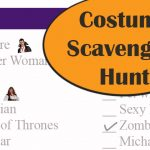 Costume Scavenger Hunt