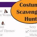 Costume Scavenger Hunt