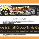 Halloween Elimination Trivia Game