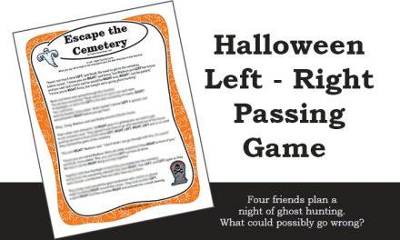 Escape the Cemetery Left Right Game
