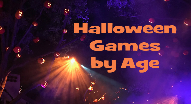 Halloween Party Game List by Age