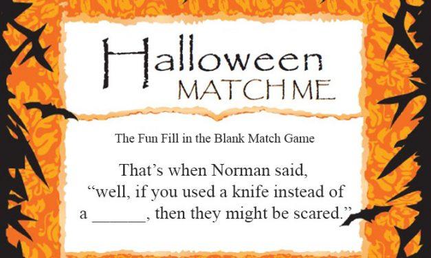 Halloween Match Me