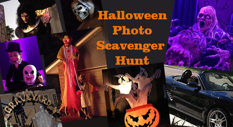 Halloween Photo Scavenger Hunt