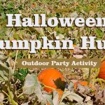 Halloween Outdoor Pumpkin Hunt