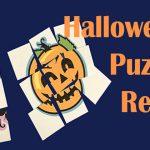 Halloween Puzzle Relay