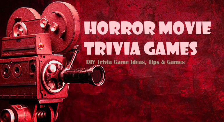 halloween movie and monster trivia games halloween party games