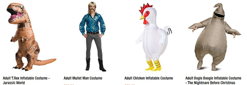 Men's Funny and Inflatable Costumes
