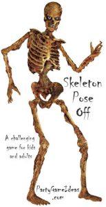 Posable Skeleton Game - Pose Skeletons Kids Game