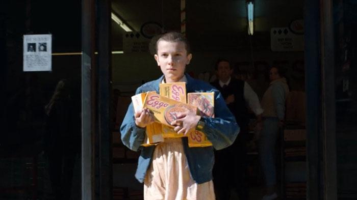 Eleven needs Eggo's