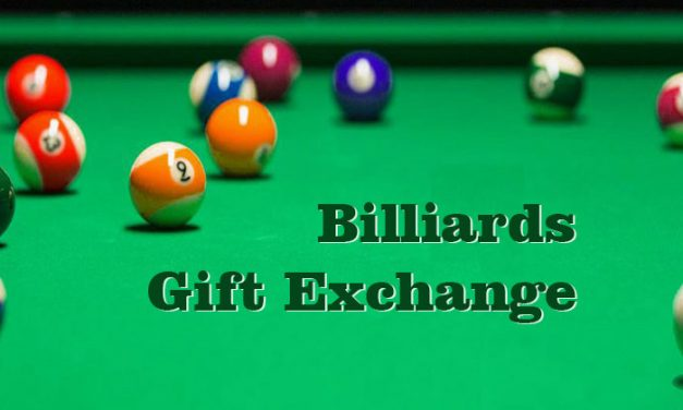Billiards Gift Exchange