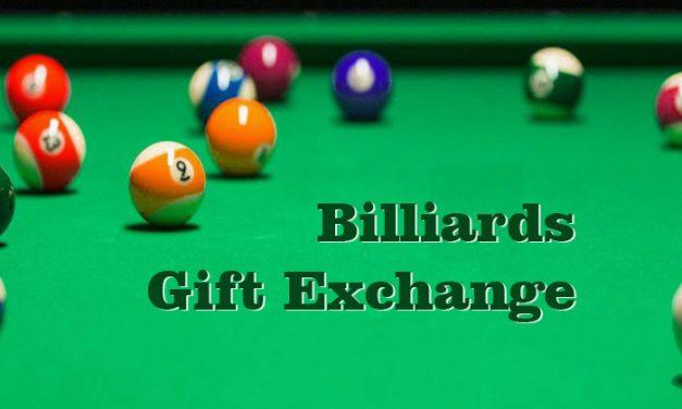 Billiards Gift Exchange