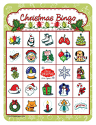 Printable Christmas Bingo GamesChristmas
