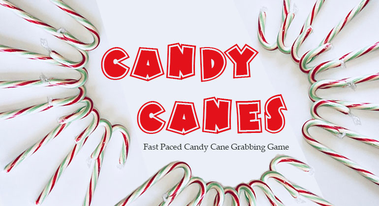 Candy Canes Spoons Christmas Game