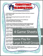 Christmas Elimination Trivia Game