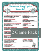 Christmas Song Lyrics - Holiday Music Game