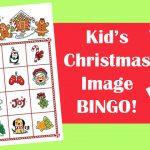 Christmas Image Bingo