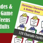 Christmas Charades and Holiday Draw