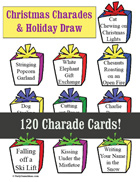 Christmas Charades Teens and Adults