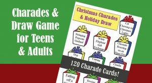 120 Christmas Charades