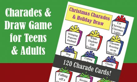 Christmas Charades and Holiday Draw