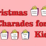 Christmas Charades for Kids