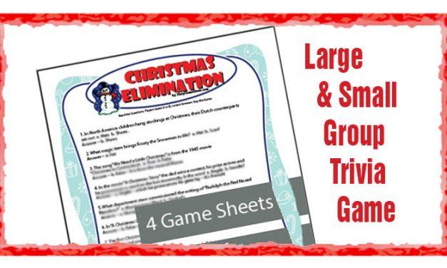 Christmas Elimination Trivia Game