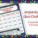Christmas Quiz Challenge Game