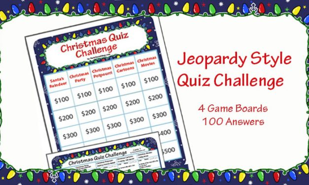 Christmas Quiz Challenge Game