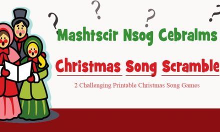 Christmas Song Scramble