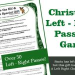 Ernie and The Special Gift Left Right Game