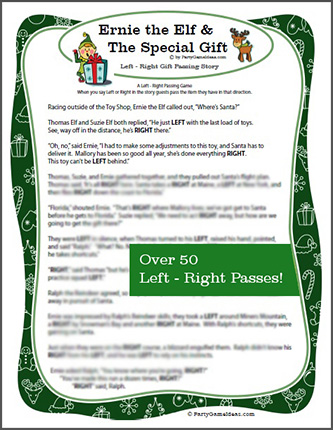 right left gift exchange game stories | Gameswalls.org